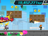 iOS/Android『仮面ライダーエグゼイド×チャリ走』配信開始、ノーコンティニューで無限に走れ! 画像