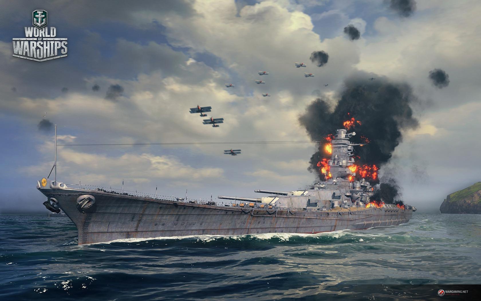 海戦ストラテジー World Of Warships テスターの先着募集が開始