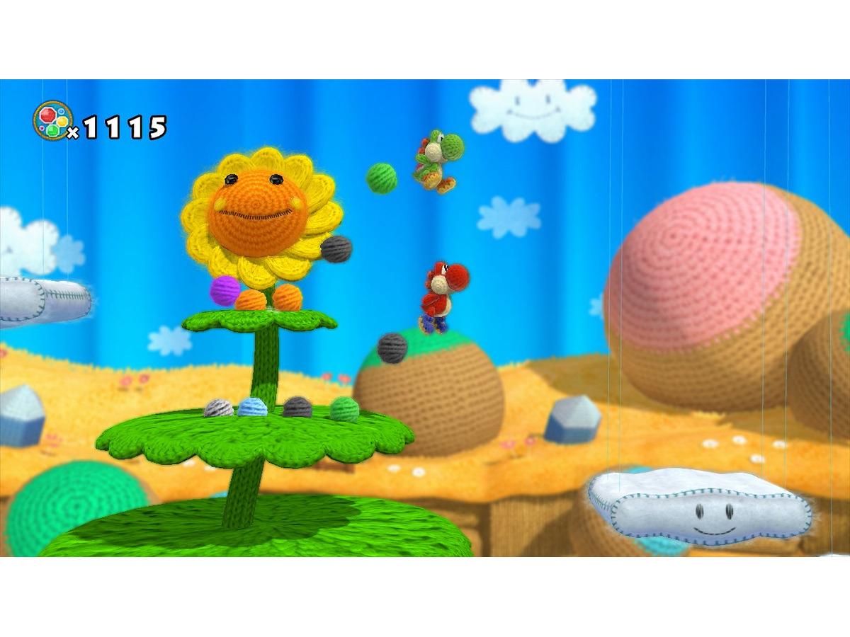 E3 2014 可愛らしい世界観でヨッシーの大冒険 Wii U 毛糸のヨッシー